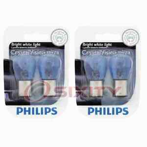 2 pc Philips Parking Light Bulbs for Asuna Sunfire 1993 Electrical Lighting rr