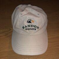 Bandon Dunes Golf Resort Hat By Imperial Adjustable Strapback Light Beige