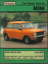 Mini Austin & Morris from 1959  850 1000 Clubman 1100 1275GT Autodata Car Manual
