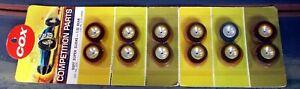 """COX 1/32 3274 SOFT SUPER SLICKS - REAR 1/8"""" (SIX PAIRS) NEW OLD STOCK"""