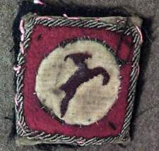 British Army 13th Corps patch theater made bullion & wool