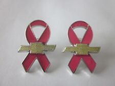 Chevrolet Chevy Breast Cancer Awareness Lapel Pins (Set of 2)