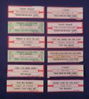 Lot of 10 Jukebox Tags 45 RPM Title Strips SNOW  HENRY LEE SUMMNER & More  #10-4