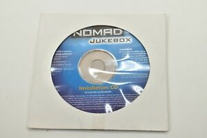 Creative Jukebox Install CD MP3 Player Portable Vintage Disc Installation 2002