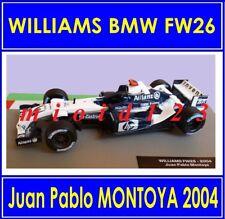 1/43 - WILLIAMS BMW FW26 : Juan Pablo MONTOYA - 2004 - Die-cast - 1/43 FORMULA 1