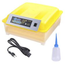 Digital 56 Egg Incubator Clear Hatcher w/ Automatic Turner Poultry Chicken Bird