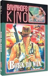 Born To Win Blu-Ray & DVD Mediabook A Cinestrange Extreme Bruno Matti 1989