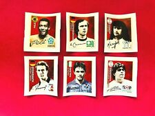 Panini Russia World Cup 2018 Collection Various Complete Sets of Extra Stickers