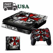 One Resident Evil Game Decal Skin Sticker For PS4 PlayStation Console Controller