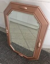 mirror antique solid oak sprayed copper colour contemporary absolutely stunning