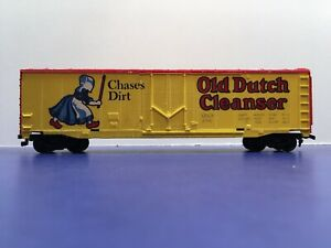 """HO Scale """"Old Dutch Cleanser"""" ODCX 3752 50 Foot Freight Train Box Car"""