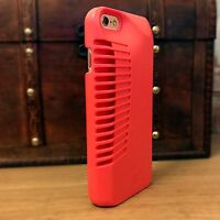 iPhone 6, 6s Rugged  Acoustic Enhancement Pink Case Inc Screen Protector