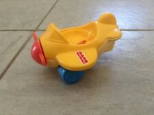 VINTAGE FISHER PRICE AIRPLANE * YELLOW