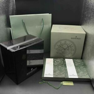 AUDEMARS PIGUET Watch BOX Wood AP LUXURY Jewelry Chest White Card Book QUALITY ♕