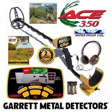 Garrett Ace 350 Metal Detector with Free Headphones, DVD and Waterproof Coil