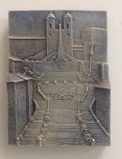 Old Church Rome Centro Storico Spanish Steps Wall Plaque