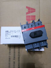 1PC ABB isolation switch OT100F3 100A