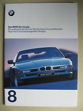 Prospekt BMW 8er Coupé E31 840 Ci 4,4 850 Ci 5,4 Modelle 1997 1998 D