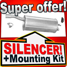 Rear Silencer FIAT DOBLO 1.9 DIESEL 1.6 16V 2000-2005 Exhaust Back Box JJP