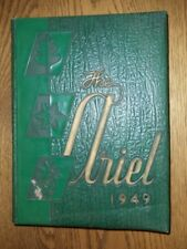 College Yearbook Lawrence University Appleton Wisconsin Ariel 1949