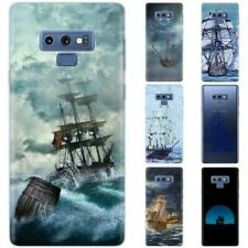 Dessana Ships Painting Protective Cover Phone Case for Samsung Galaxy S Note