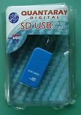 Quantaray Digital SD USB Card Reader ***NEW IN OPENED PACKAGE***