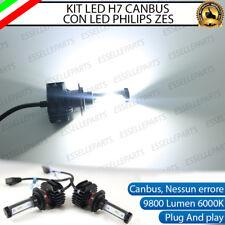 KIT FULL LED LAMPADE H7 6000K TRIUMPH DAYTONA 675 9800 LUMEN XENON CANBUS LED