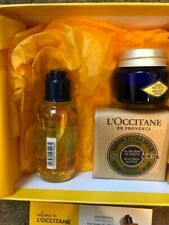 L`Occitane Immortelle 3 Piece Gift Set : Body Cream, Shower Oil & Verbena Soap