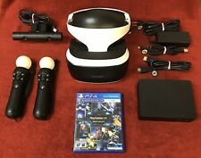 Sony PlayStation VR Bundle - Excellent Condition