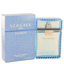 Versace Man Eau Fraiche Fragrance 3.4oz Eau De Toilette MSRP $82 NIB