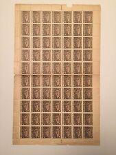 1922, Armenia, 309, Sheet of 70, Mint