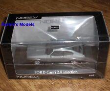 Norev-Ford Capri MKIII 2.8i V6 1984, Arctic Blue - 1/43 NUOVO