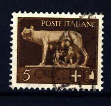 """ITALIA - Regno - 1929 - Serie """"Imperiale"""" - Lupa di Roma - 5 c. bruno"""