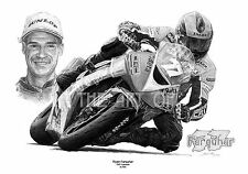 Ryan Farquhar KMR Kawasaki by Billy fine art print
