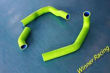 silicone radiator hose for Nissan silvia/180SX S13 CA18DE 1989-1994 Light Green