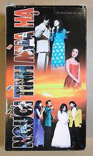 Hollywood Night 14 VHS 2 Tape Set Vietnamese Music Variety Show Nguoi Tinh Mua
