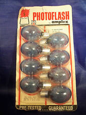 Photoflash by Amplex Eight type 5B Blue Bulbs in package