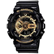 Casio watch Mens G - SHOCK black gold GA - 110 - gb - 1a quartz watch waterproo