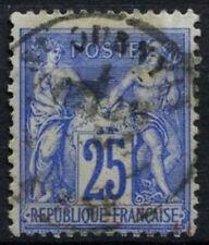 France 1876-85, SG#234, 25c Ultramarine Type II Used #D50309
