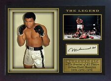 Boxer Muhammad Ali signed autograph WORLD CHAMPION  Boxing Memorabilia Framed #3
