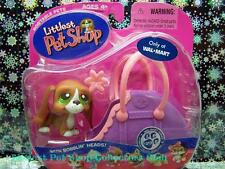 Littlest Pet Shop Walmart Excl. BASSET HOUND DOG w/Case lot #312 Retired NIB!