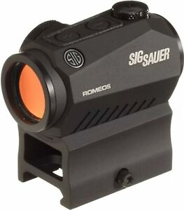 Sig Sauer SOR50001 Romeo5 1x20mm Compact 2 MOA Red Dot Sight (High Mount Only)