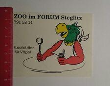 Pegatina/sticker: zoo en el foro Steglitz adicional a alimentos para aves (23121653)