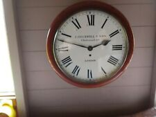More details for 12in dail fusse school/shop  wall clock