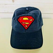 DC Comics Superman Hero Navy Blue Red Baseball Cap Hat Hip Hop Snapback