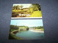 2 Postcards from Berwickshire -  posted