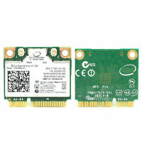 Intel dual band wireless-ac 7260 7260HMW Bluetooth 4.0 PCIe Half Mini Wifi Card