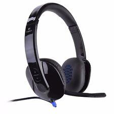 Logitech H540 USB Headset w/Boom Microphone (981-000510)--Black