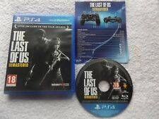 THE LAST OF US REMASTERED PS4 V.G.C. ( action/adventure, FPS & survival horror )