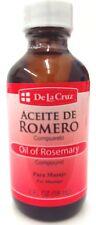 De La Cruz Aceite De Romero -Oil of  Rosemary 2 Ounce …